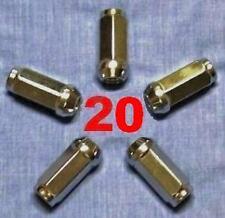 1/2X20 LONG WHEEL LUG NUTS FORD F 150 250 RANGER CHEVY C 10 20 DODGE RAM D W 150