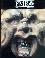 FRANCO MARIA RICCI REVUE ART FMR No 40 de 1992 VAN GOGH TOLENTINO RAMSAY MOSQUEE