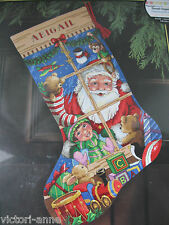 Dimensions Gold Stocking Cross Stitch Kit Santa's Toys Christmas 8818 New