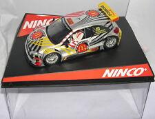 Ninco 50452 Slot car Renault Megane Trophy #10 Mcdonalds G.Horion-R.kuppens MB