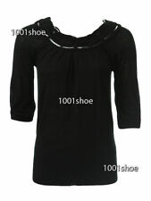 new RRP$150 WITCHERY KNIT JUMPER TOP BLACK L more sz in store