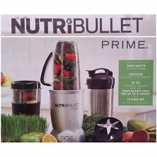 NutriBullet Prime 1000w 12Piece HighSpeed Blender Mixer Fruits Vegetable
