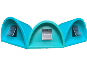 WOW £59.00 OUTDOOR CAT SHELTER/KENNEL PLASTIC CAT HOUSE+ FLAP