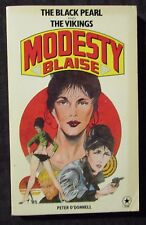 1978 MODESTY BLAISE Black Pearl The Vikings by Peter O'Donnell FN+ 6.5 1st Star