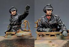 ALPINE M 35174 WSS allemand Panzer commandants 2 Figure Set WW2 1/35th Model Kit
