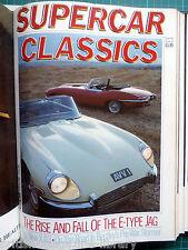 Supercar Classics Autumn 1985 Jaguar E-type XJ13 replica Bentley 4 1/2-litre