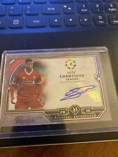 2017-18 Topps Museum Collection UEFA Champions League Archival Autograph