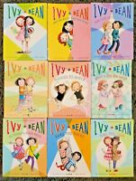 IVY & BEAN SERIES PAPERBACK CHILDRENS 9 CHAPTER BOOK LOT BARROWS 1, 2, 4-10