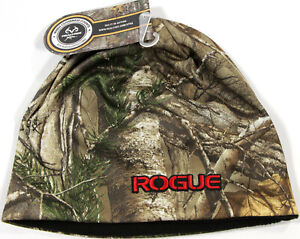 ROGUE Fitness RealTree Camo Beanie- NEW -fleece lined forest camouflage hat-NWT