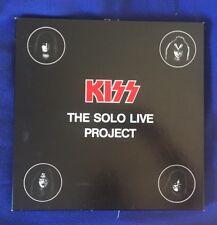 KISS 4 Box Lp The Solo Live Project  Lp 33 Rare Vinily Bootleg