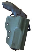 Holster Kydex pour HDR 50 UMAREX Fixation ceinture Gaucher - Olive