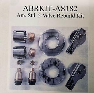 AMERICAN STANDARD - 2 VALVE TUB / SHOWER REBUILD KIT AS182