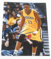 MYLES TURNER SIGNED 11X14 PHOTO INDIANA PACERS AUTHENTIC AUTOGRAPH TEXAS COA C