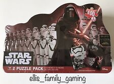 Disney Star Wars The Force Awakens 2 100 Piece Puzzles Collectors Tin Kylo Ren