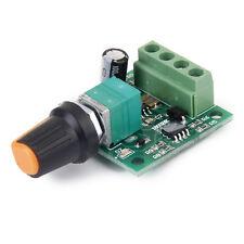 voltaje de DC 1,8V 3V 5V 6V 12V 2A controlador de velocidad del motor PWM W8C4