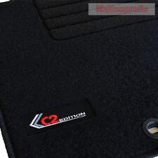 Mattenprofis Velours Logo Fußmatten für Citroen C2 ab Bj. 09/2003 - Heute