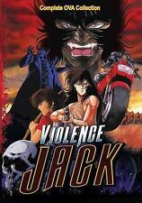 Violence Jack: Complete OVA Series (DVD, 2015) Official Discotek Release