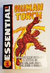 VF/NM Marvel Comics Essential Human Torch STRANGE TALES #101-134 Jack Kirby FF