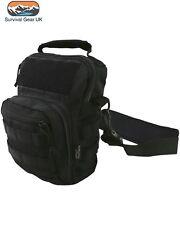 Black Hex Tac Tactical Explorer Pistol Holder Shoulder Day Bag Back Pack Airsoft