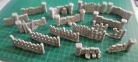 28mm Low Walls and Fences set ,Scatter, Terrain, Scenery for Wargames,