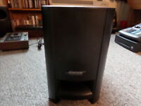 BOSE PS 3 2 1 SERIES II POWERED SPEAKER SYSTEM SUBWOOFER ***TESTED***