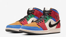 Nike Air Jordan 1 Retro Mid SE Fearless SZ 10.5 Blue The Great Breds CU2805-100