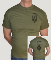 SAS,BRITISH SPECIAL FORCES,LARGE AND SMALL LOGO,ARMY, MILITARY, WAR ,T-SHIRT