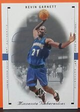 Kevin Garnett card 98-99 SP Authentic #53