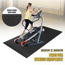 EVA Exercise Equipment Treadmill Fitness Mat Gym Bike Protect Floor 79''x40''