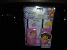 DORA THE EXPLORER WALKIE TALKIES NEW IN BOX AGES 4+ NICKELODEON