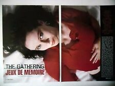 COUPURE DE PRESSE-CLIPPING :  THE GATHERING [8pages] 2003 Anneke Van Giersbergen