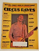 Circus Raves Magazine December 1975 The Who Elton John Deep Purple Bowie #123