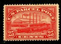 [FC]   US #Q9 Mint-VLH 1913...25c PARCEL POST...Free Shipping!