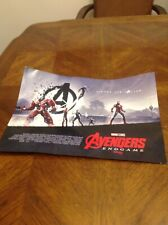 "Superhero memorabilia AVENGERS END GAME NEW POSTER 16""X 11"" colorful Marvel DC"