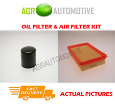 PETROL SERVICE KIT OIL AIR FILTER FOR HYUNDAI COUPE 2.7 167 BHP 2002-08