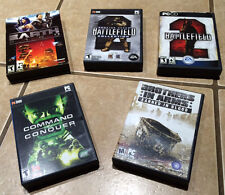 EUC Lot of PC Games: Battlefield 2/Collection Command Conquer Earth 2160 Bro Arm