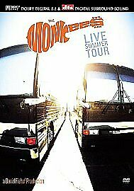 The Monkees Live Summer Tour (DVD, 2002)