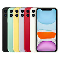 Apple iPhone 11 - 64GB 128GB 256GB - All Colors - Fully Unlocked (CDMA + GSM)