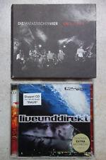 Die Fantastischen Vier  2 x CD Unplugged Magnetverschluß  &  LIVE UND DIREKT CD