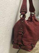 Fossil 1954 75082 Red Leather Shoul