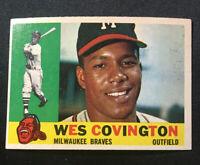 1960 Topps #158 Wes Covington, EX-Near Mint