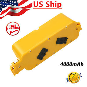 14.4V 4.0Ah Battery For iRobot Roomba APC 400 4000 4905 4210 Discovery Series US