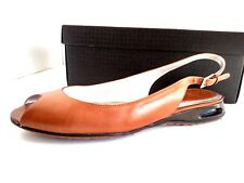 Cole Haan Air OT Slingback Brown/Woodbury Leather Size 7B NEW!