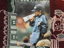 1982 AMERICAN LEAGUE BASEBALL PROGRAMME - CHICAGO WHITE SOX v BALTIMORE