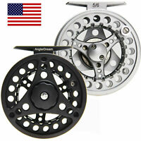 1/2/3/4/5/6/7/8 WT Fly Reel Large Arbor Aluminum Fly Fishing Reel Ship From US