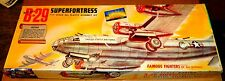 VINTAGE [1954] AURORA BOEING B-29 SUPERFORTRESS 1/76 w/ CEMENT & REPRO DECALS