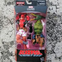 DEADPOOL IN BOXERS Marvel Legends 6-Inch Figure BAF Sauron Sealed Box