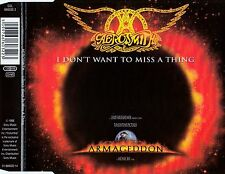AEROSMITH : I DON'T WANT TO MISS A THING / 4 TRACK-CD (SONY MUSIC 1998)