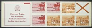 Suriname stamps booklet - Surinamese images_5 - MNH.