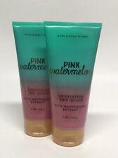 x2 Bath & Body Works Pink Watermelon Exfoliating Body Scrub